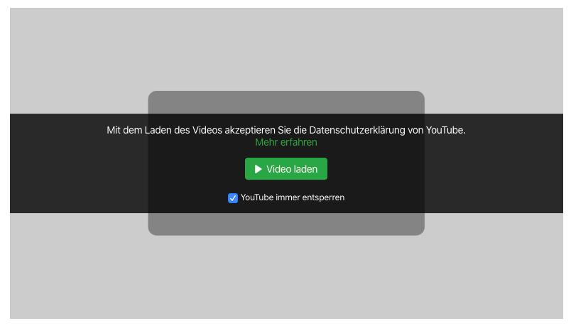 Content blocker Beispiel
