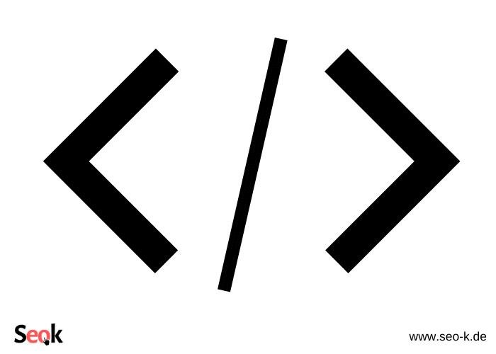 Programmierzeichen