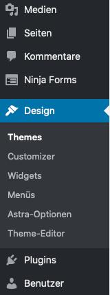 Wordpress Seitenleiste