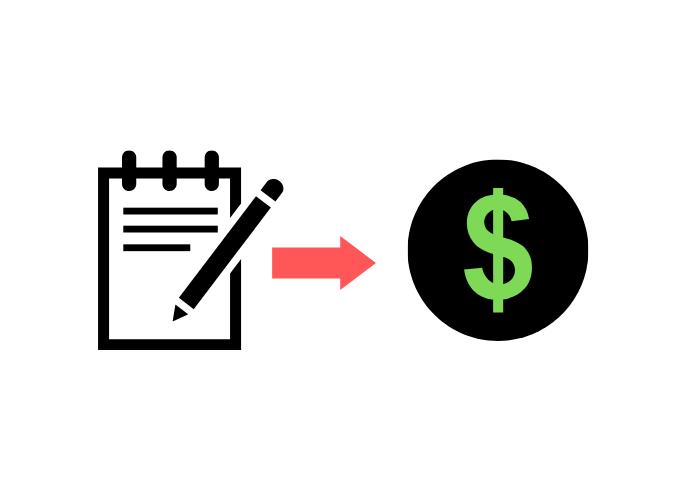 Als Texter Geld verdienen